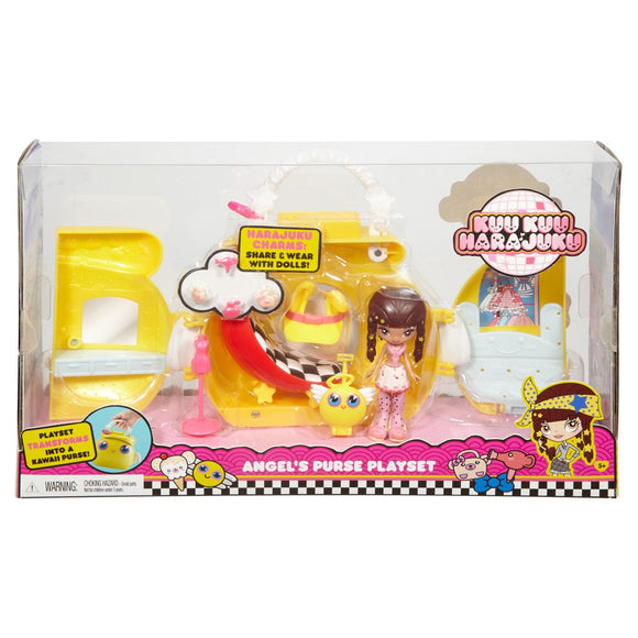 Kuukuu Harajuku Angel's Purse Playset