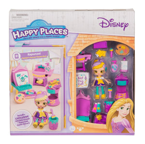 Happy Places™ Disney Rapunzel Painters Corner Theme Pack