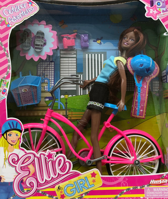 Ellie Girl Outdoor Adventures Playset in Multi Dolls Playsets