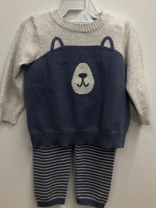 2-Piece Bear Top & Pant Set (6 months)
