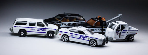matchbox police cars