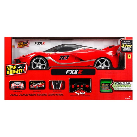 New Bright 1:8 Scale Radio Control Car
