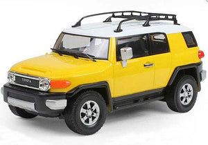 1:16 Scale Yellow / Red / Black R/C Toyota FJ Cruiser SUV
