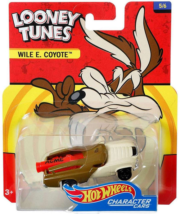 Hot Wheels Looney Tunes Character Cars Wile E. Coyote Die-Cast Car