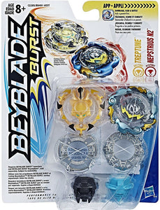 Beyblade Burst Dual Pack Treptune and Nepstrius N2 Set