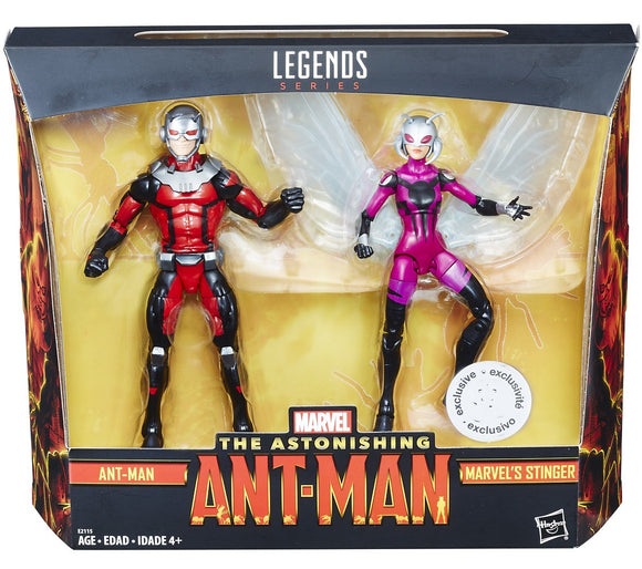 Ant Man Marvel Legends Ant-Man & Stinger Exclusive Action Figure 2-Pack