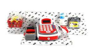 KX My Funny Register Pretend Play Battery Operated Toy Cash Register