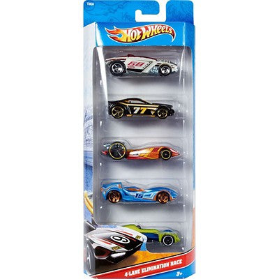 Hot Wheels 5 Car Pack 1:64 - Assorted