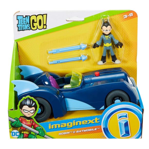 Imaginext Teen Titans Go! Robin & Batmobile