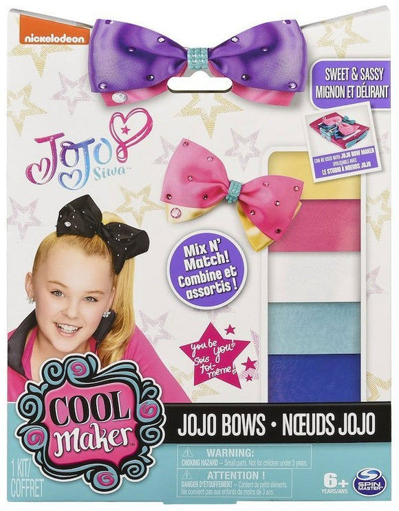 Nickelodeon JoJo Siwa Cool Maker JoJo Bows Refill Pack - Sweet & Sassy