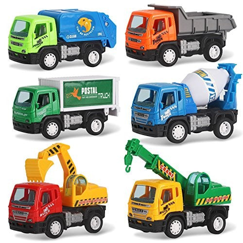 Pullback City Builder Construction Vehicles