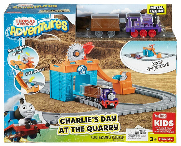 Fisher Price - Thomas & Friends Adventures Charlie's Day At The Quarry