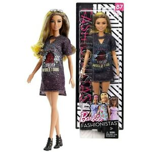 Barbie Fashionistas # 87 Rockstar Glam BARBIE MATTEL - NEW IN BOX