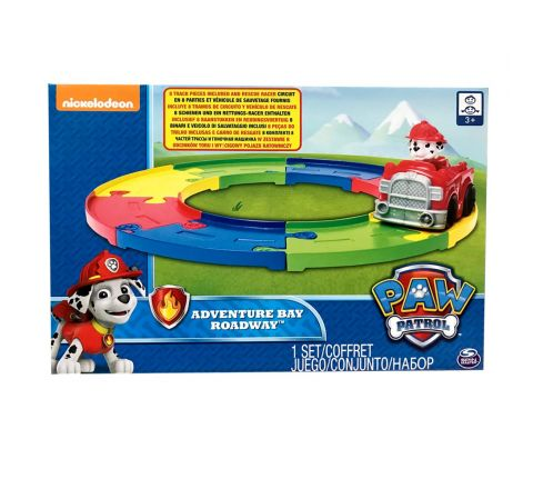 NICKELODEON PAW PATROL ADVENTURE BAY ROADWAY