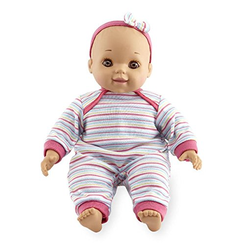 You & Me 14-inch Chatter & Coo Baby Doll - Ethnic - Brown Eyes