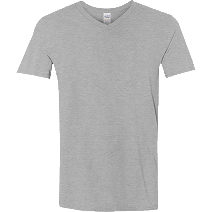 415c9431 64v Gildan Men's Softstyle V-Neck T-Shirt – Shirts 4 Good