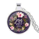 Jesus Paid It All Fashion Bible Verses Necklace