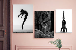 Fine Art Prints-Nude Yoga Girl