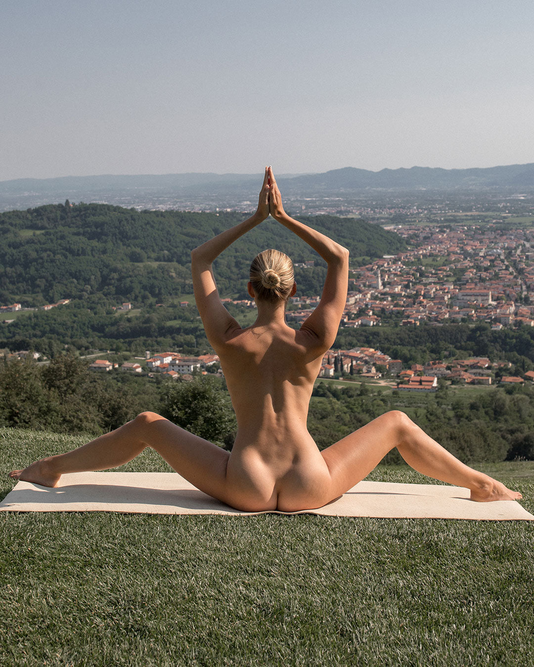 Naked Yoga in Nature