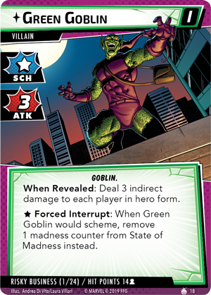 The Green Goblin Scenario Pack - Marvel Champions