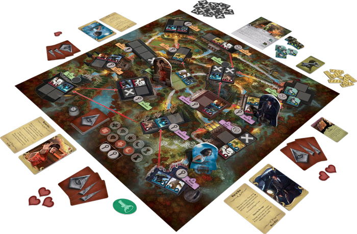 Arkham Horror: Final Hour Board Game Contents