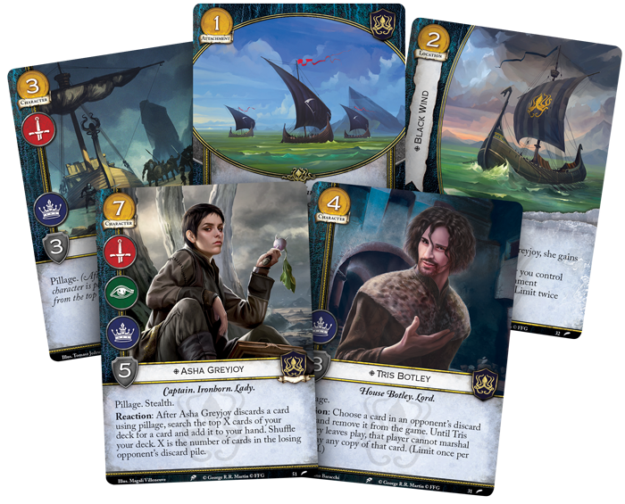 House Greyjoy Intro Deck