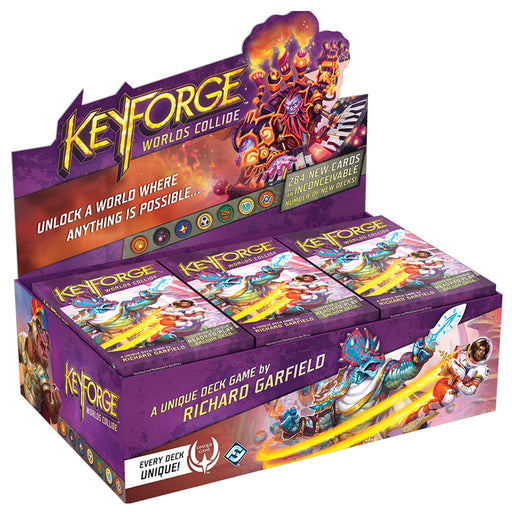 Keyforge worlds collide deck display box