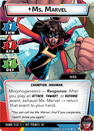 Ms Marvel Card