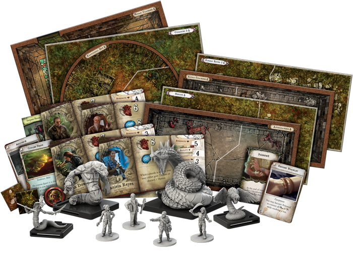 Path of the Serpent Expansion for Mansions of Madness Contents