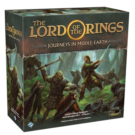 The Lord of the Rings: Journeys in Middle Earth Board Game