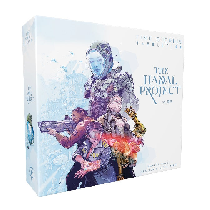 The Hadal Project TIME Stories Revolution Board Game Expansion