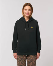 Load image into Gallery viewer, Black Logo Hoodie