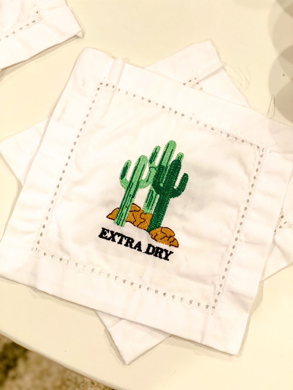 Extra Dry Cocktail Napkin