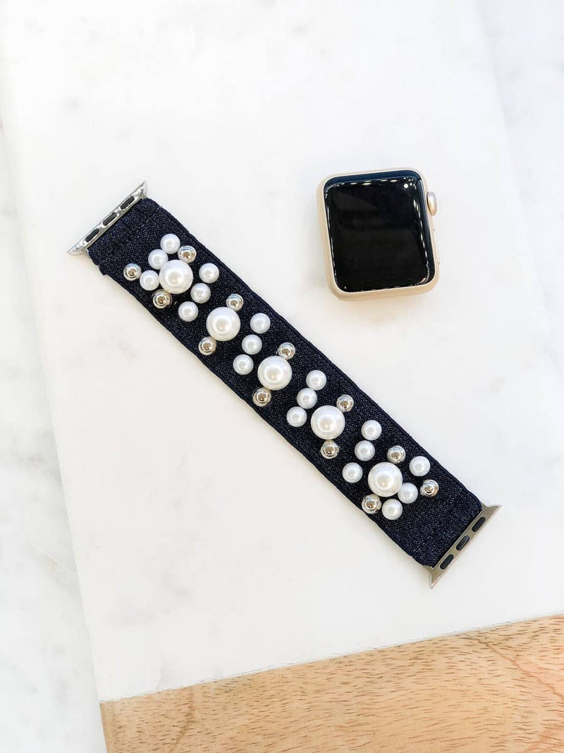 Pearl Stretch Apple Watch Band