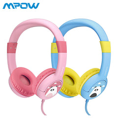 2-pack Mpow BH181 Filaire Casque Enfants Casque Cadeau verser Enfants Garçons Filles Max 85db coussinets Souples verser iPhone iPod MP3 MP4 ordinateur portable