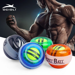 OCIOLI Poignet Gyro Boule Gyroscope Force Power Ball Fortifiant Muscle Relax Pression de Formation Exerciseur de Remise En Forme