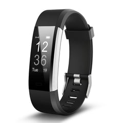 Torntisc ID115HR PLUS Intelligent Bracelet Sport de Fréquence Cardiaque Bande À Puce Fitness Tracker Smart Bracelet Montre Smart Watch pour IOS Android