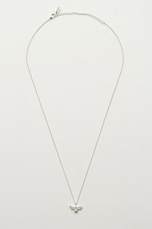 Estella Bartlett-Silver Plated Bee Necklace | Eve & Ranshaw