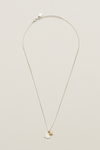 Estella Bartlett-Silver Plated Two Tone Heart & Star Necklace | Eve & Ranshaw