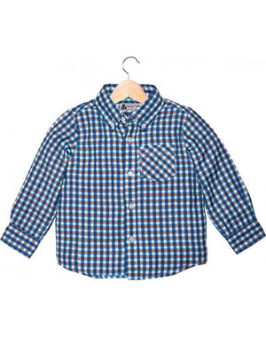 Tractor Ted-Red Check Shirt | Eve & Ranshaw