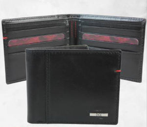 Dice-Yardley Billfold Wallet Black | Eve & Ranshaw
