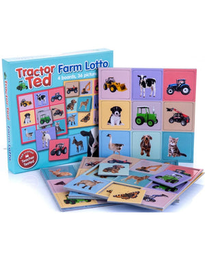 Tractor Ted-Farm Lotto Game | Eve & Ranshaw