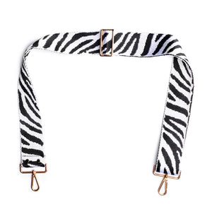Elie Beaumont-Zebra Bag Strap | Eve & Ranshaw