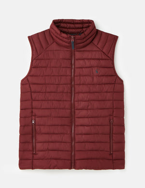 Joules-Go To Lightweight Barrel Gilet Port | Eve & Ranshaw