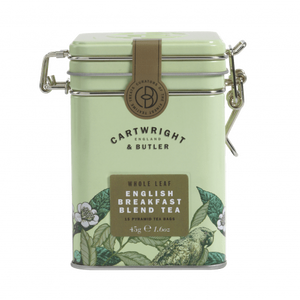 Cartwright & Butler-Leaf Tea Bags Caddy - English Breakfast | Eve & Ranshaw