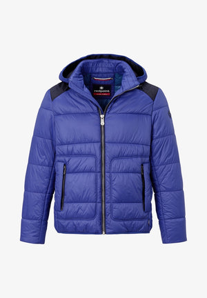 Redpoint-Wallace Ultra Lightweight Blouson Jacket Blue | Eve & Ranshaw