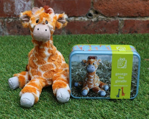 Apples To Pears - George The Giraffe - Simple Sewing Kit | Eve & Ranshaw