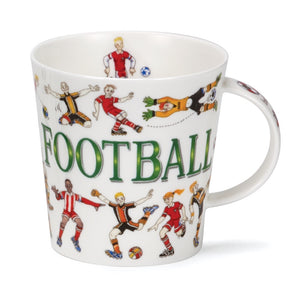 Dunoon-Sporting Antics Football Cairngorm Fine Bone China Mug | Eve & Ranshaw