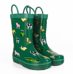 Tractor Ted-Baby Animals Welly Boots | Eve & Ranshaw