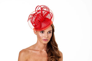 Boardmans-Fuchia Medium Fascinator | Eve & Ranshaw